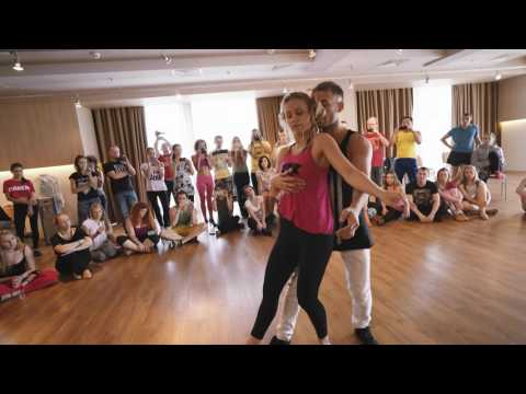 Maxim + Anastasia - Russian Zouk Congress 2016 - Demo 1