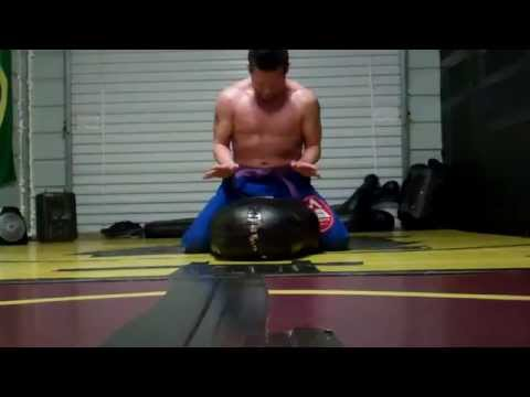 RLVT Grappling Dummy Solo Guard Pass Drills Image 1