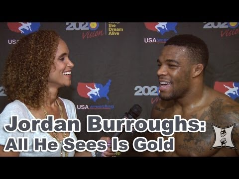 2012 Gold Medalist Jordan Burroughs on Saving Olympic Wrestling Possible MMA Career