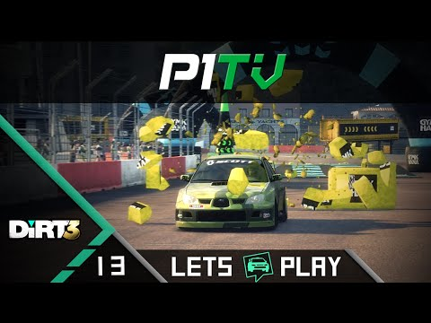 DiRT 3 #13 - Gymkhana unter Kontrolle  / Lets Play DiRT 3 [PC] [G27]