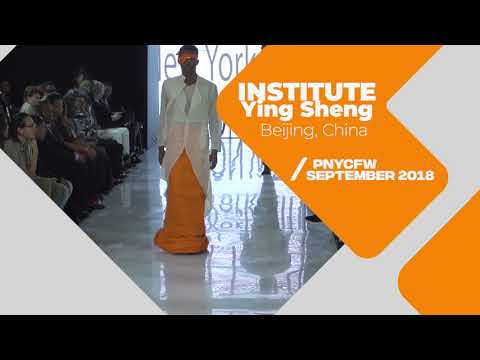 Institute Ying Sheng from Beijing, China at PLITZS New York City Fashion Week