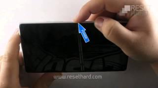 Aplicando o Hard Reset no Nokia Lumia 1520
