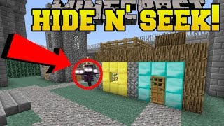 Minecraft: WITHER HIDE AND SEEK!! - Morph Hide And Seek - Modded Mini-Game