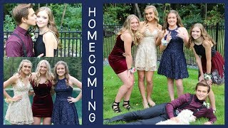 HOMECOMING 2018 - GETTING READY & PRE DANCE PHOTOS