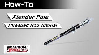 Threaded rod installation instructions