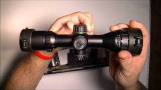 Leapers/UTG 3-9x32 Compact CQB Bug Buster AO RGB Scope with Med. Picatinny Rings, 2