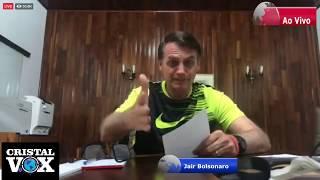Jair Bolsonaro ao vivo