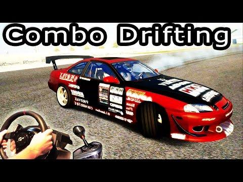 Drifting - Toyota Soarer @ Tsukuba (Assetto Corsa v1.0) long Combo Drift! t500rs Full HD