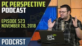 PC Perspective Podcast #523 - AMD RX 590, Samsung QVO SSDs, and Windows Bugs Galore!
