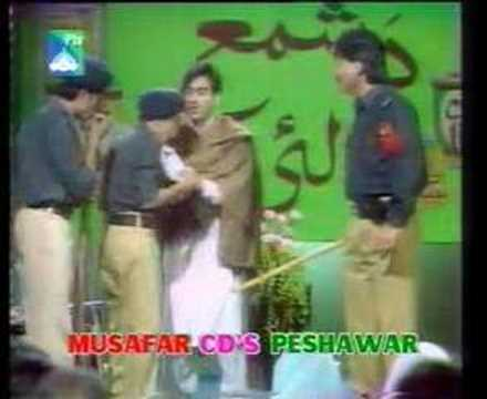 Pashto Mazahia Gupshup Stage Show Clip 7 video