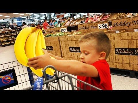 10 Минут на Челлендж в СУПЕРМАРКЕТЕ Мальчики против Девочек Supermarket Challenge Видео для Детей