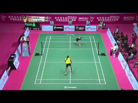 SF - 2014 Macau Open - P. V. Sindhu vs Busanan Ongbumrungpan