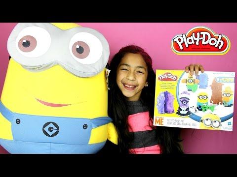 Tuesday Play Doh Despicable Me Minion Mayhem| B2cutecupcakes video