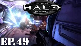 Halo: Combat Evolved Anniversary - Part 49_ Corridor Madness - Walkthrough / Let's Play