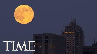 There Will Be A Super Worm Moon On The Spring Equinox: Here's How To See It   TIME