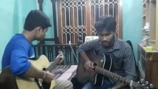 Kata kuti khela guitar lesson(Arijit & Anik)