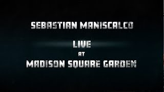 Sebastian Maniscalco - Coming to Madison Square Garden - January 19, 2019