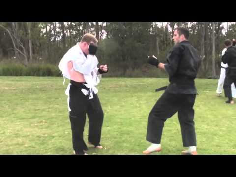 Goju Ryu Karate Kumite with knockout Image 1