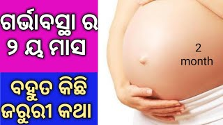2 month pregnancy or 8 weeks pregnant symptoms and baby growth|ଗର୍ଭାବସ୍ଥା ର ୨ୟ ମାସ |sonam odia tips