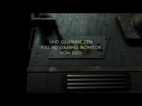 Gamescom Trailer vom neuen EIZO FX2431 auf dem Activision-Stand.