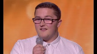 Will Daniel Quick Makes Judges Feeling Good Boot Camp The X Factor Uk 2017