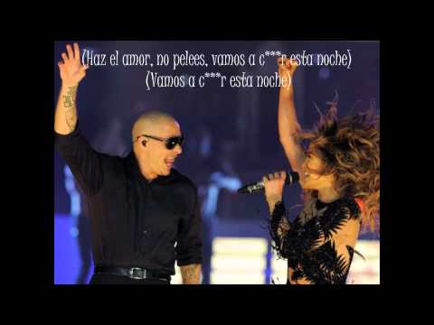 Jennifer Lopez Ft Pitbull - Live It Up (Subtitulos en Español)
