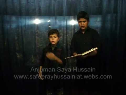Anjuman Saya Hussain Nohakia Muhammad(saw) Ka Pyara By Sayyedain.wmv video