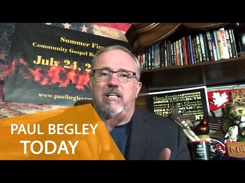 Paul Begley Today - Top News Match Bible Prophecy In The News (September 2015)