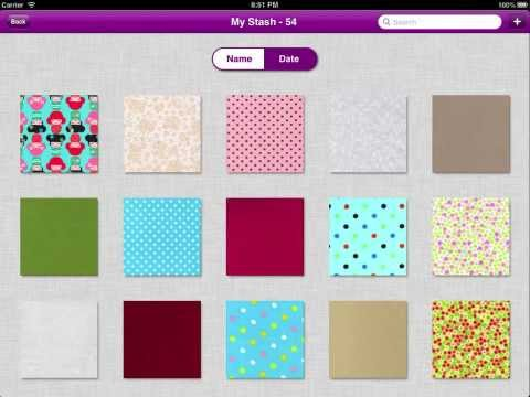 Quiltography Tutorial : Managing Your Stash