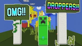 30+ CRAZY MINECRAFT DROPPERS!!