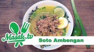 Soto Ambengan | Resep #147