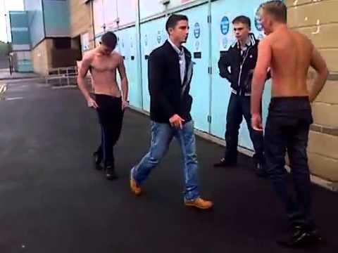 ROMANY GYPSY VS IRISH TRAVELLER! bareknuckle fight 2013