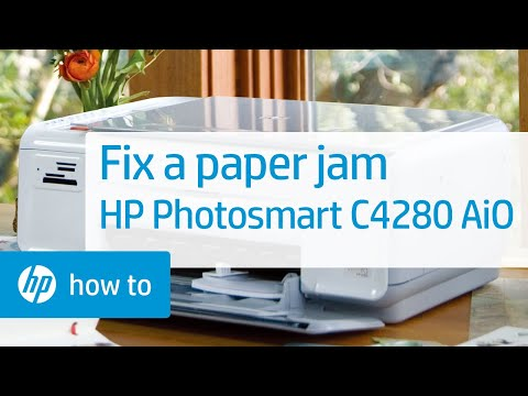 how to fix paper jam in hp printer