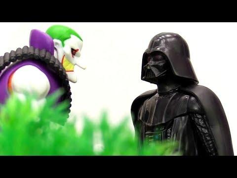 Человек-паук помогает Литл Пони защитить от Дарта Вейдера!