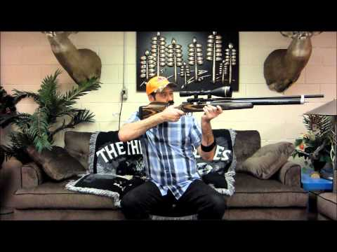 40 Cal Carbine Bigbore Air Rifle by Extreme Bigbore Airrifles & Mrhollowpoint