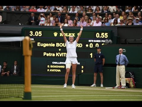 2014 Day 12 Highlights, Petra Kvitova vs Eugenie Bouchard, Final