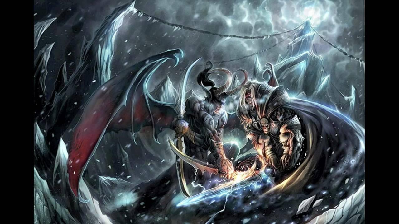World of Warcraft: Jaina and Arthas Together Forever - YouTube
