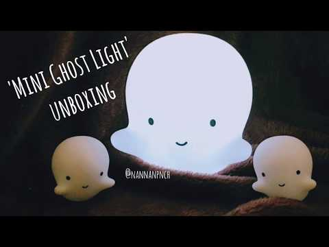 (UNBOXING) Mini Ghost Light from a little lovely company