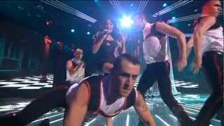 Samantha Jade - Scream (by Usher) on The X Factor Australia 2012 - 22-10-2012 (HQ)