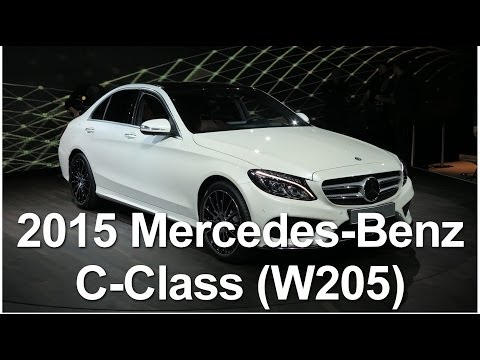 2015 Mercedes-Benz C-Class world premiere