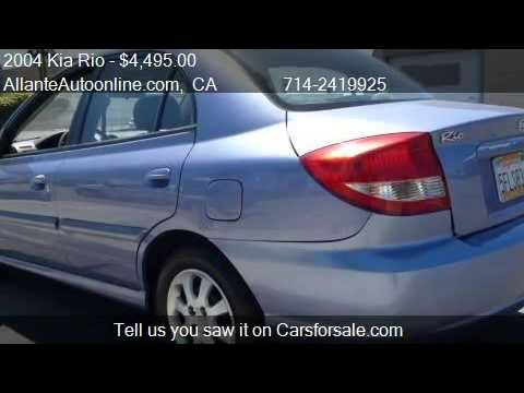 2004 Kia Rio Automatic Great Gas Saver - for sale in Santa