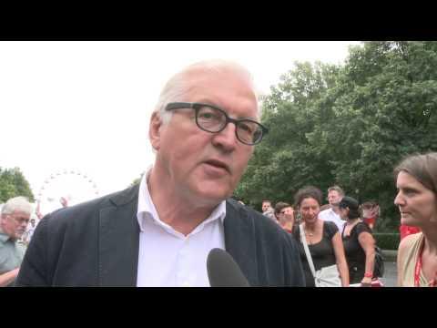 Das Deutschlandfest - Frank-Walter Steinmeier im Interview