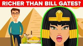 How Rich Was Cleopatra and Other Pharaohs?