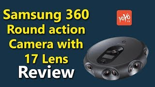 Samsung 360 Round Action Camera With 17 Lens | Specifications | Features |  YOYO TV Channel