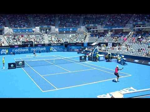 Serena Williams vs Maria Jose Martinez Sanchez WTA Sydney