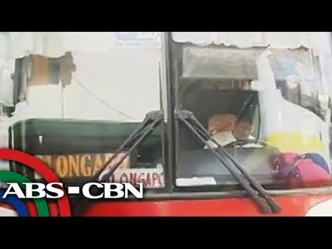 NLEx traffic jam delays bus trips