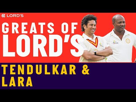 Sachin Tendulkar vs Brian Lara | Who's The Greatest?