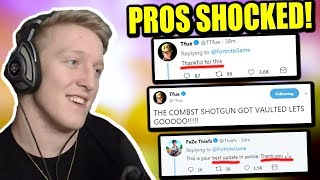 "Tfue Is NOT Quitting After This Update! Pros PRAISING Epic For ""BEST UPDATE"""