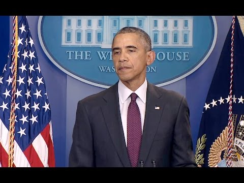 The President Delivers a Statement on the Shooting in Oregon