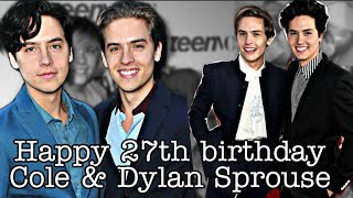 Happy 27th birthday Sprouse twins